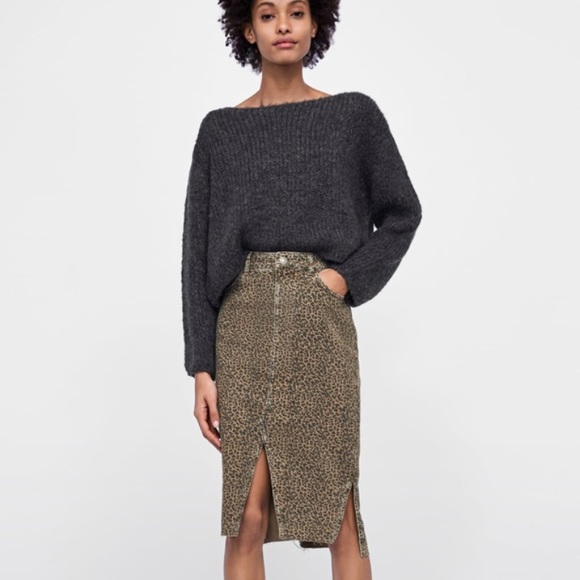 get online on feet images of official sale Animal Print skirt. Brand new. NWT